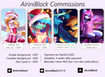 The commissions are CLOSED! by AiriniBlock