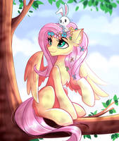 Collab\ fluttershy by AiriniBlock