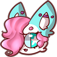 Lyssi Sticker idea thing by qhostts