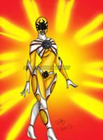 Yellow Ranger by blueliberty