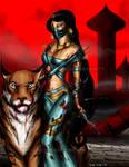 Princess Jasmine Mortal Kombat style