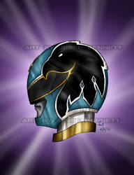 Megaforce Power Ranger (commission) by blueliberty