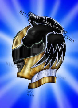 Power Rangers Megaforce Gold Pegasus (Comission)