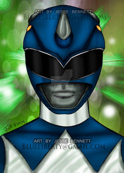 Mighty Morphing Blue Ranger
