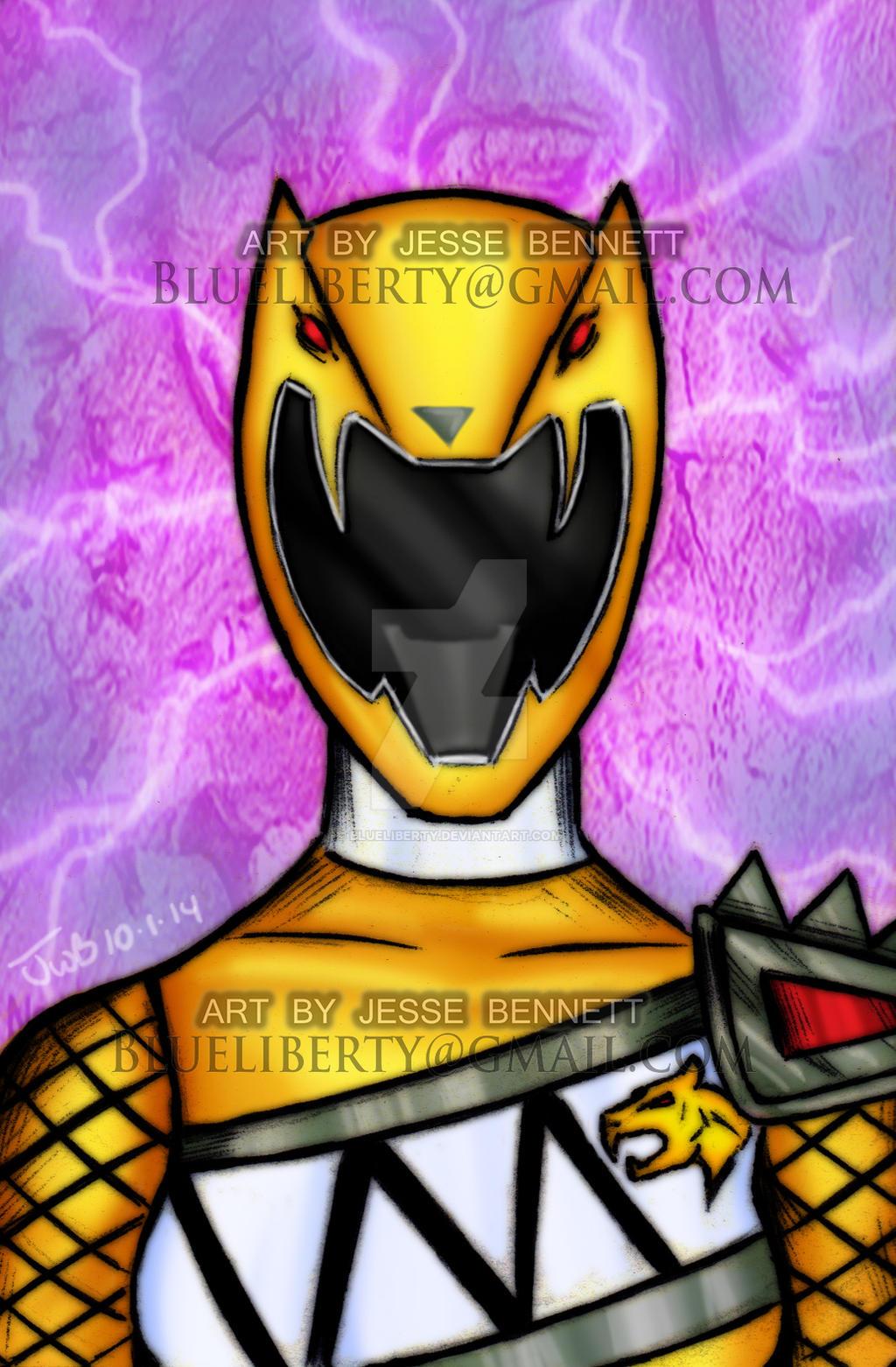 Dino Charge Yellow Ranger sentai Kyoryuger By
