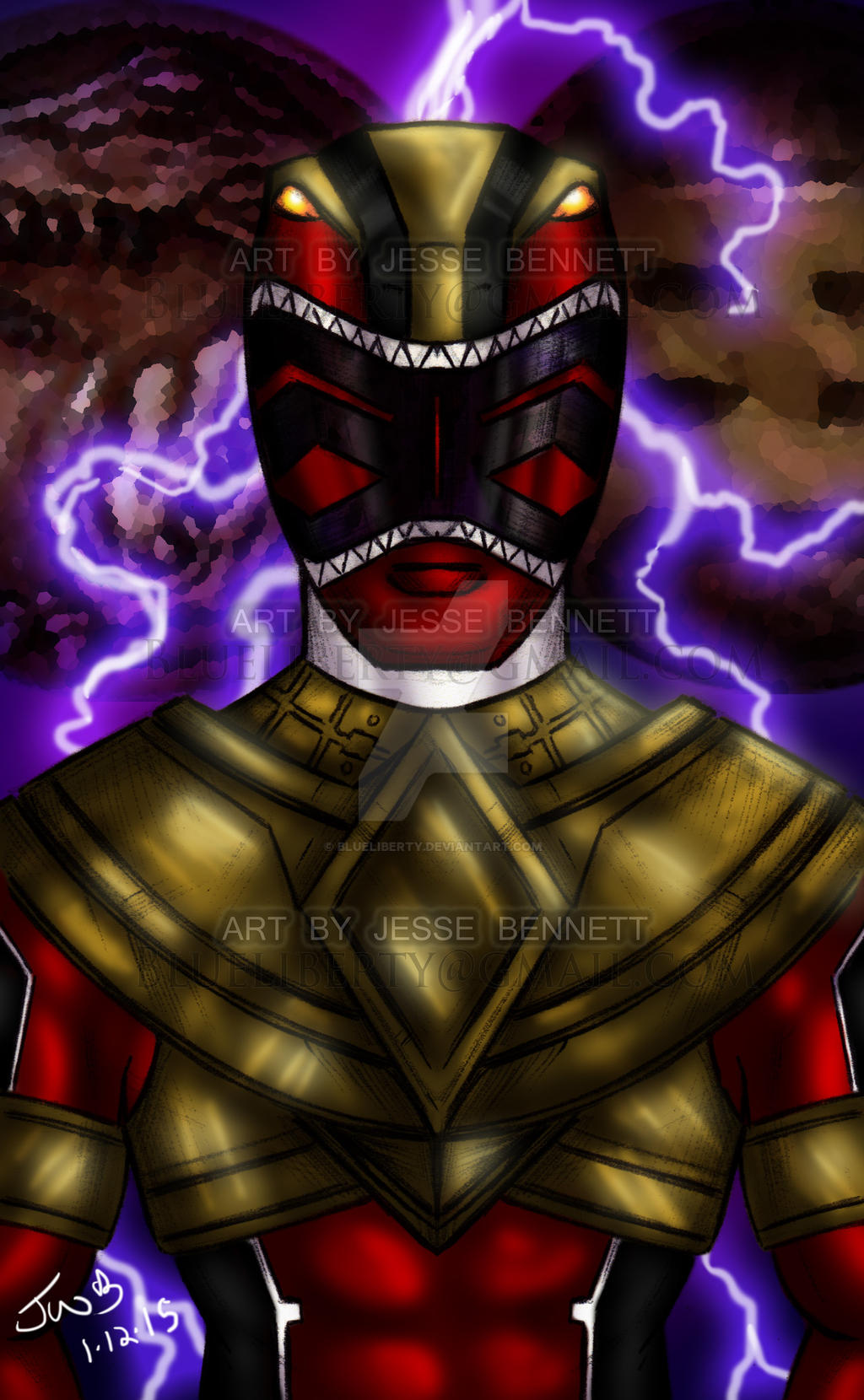 Zeo Tyranno Red Gold Ranger by blueliberty on DeviantArt - photo#33