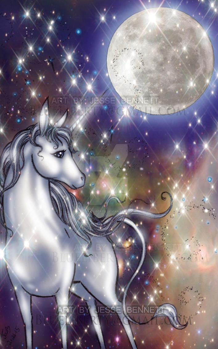 The Last Unicorn by blueliberty