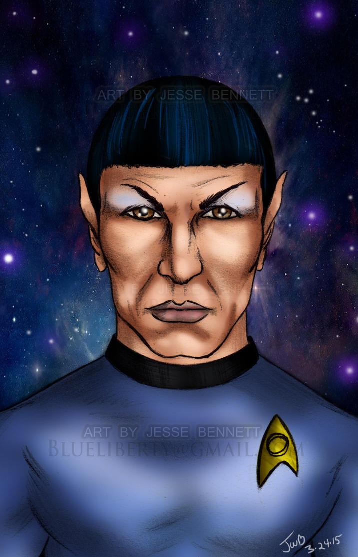 Spock Tribute by blueliberty