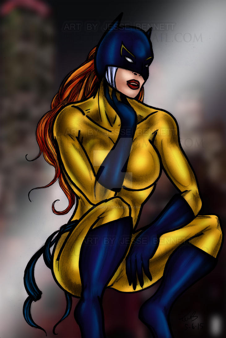 Hell Cat Marvel by blueliberty