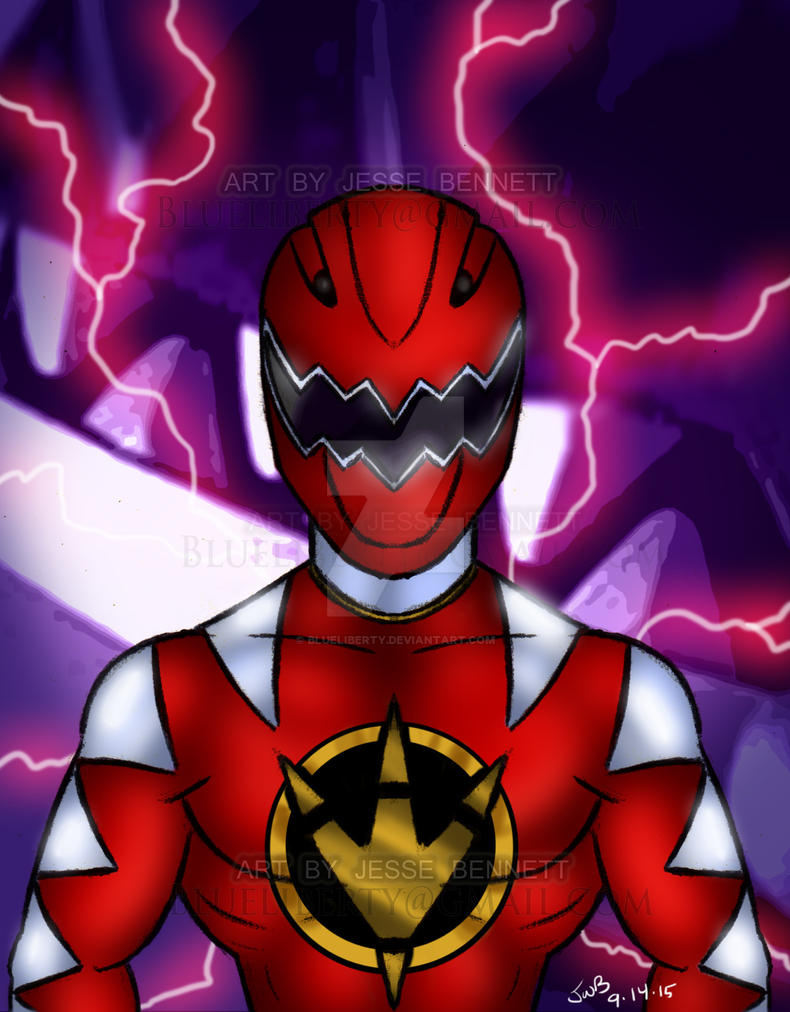 Dino Thunder Red Ranger by blueliberty