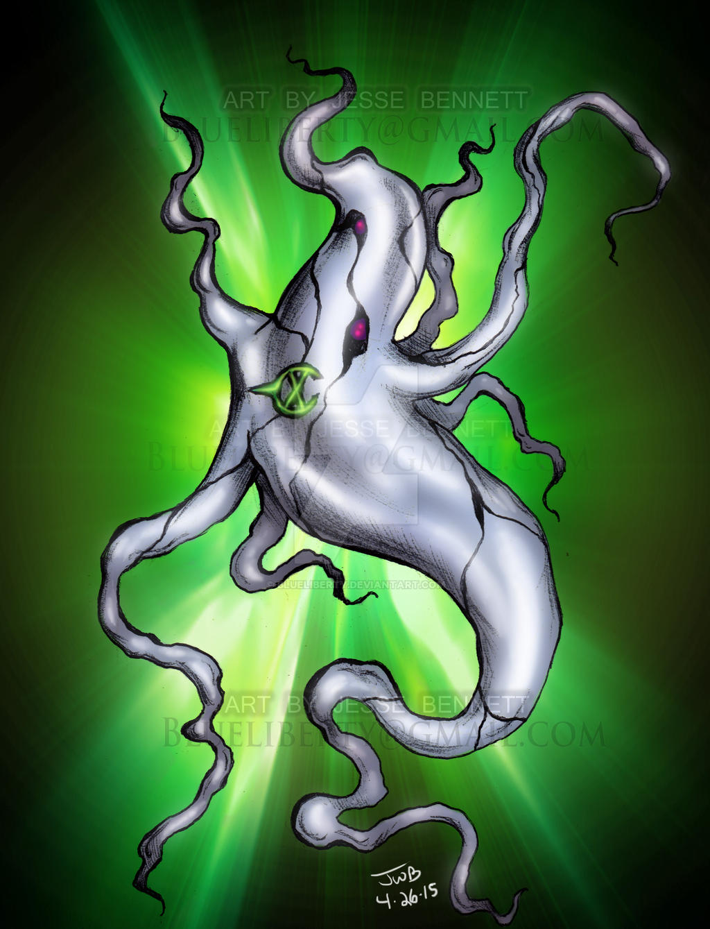 Ghostfreak Ben 10 by blueliberty on DeviantArt