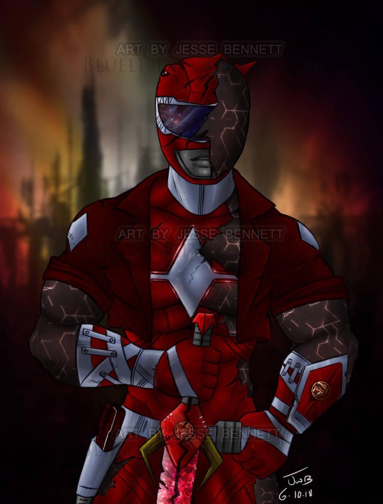 End War Red Ranger (MMPR) by blueliberty