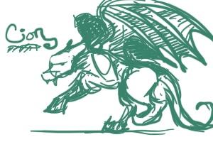 (VERY LATE) Sketch Art Exchange by WazzinGator