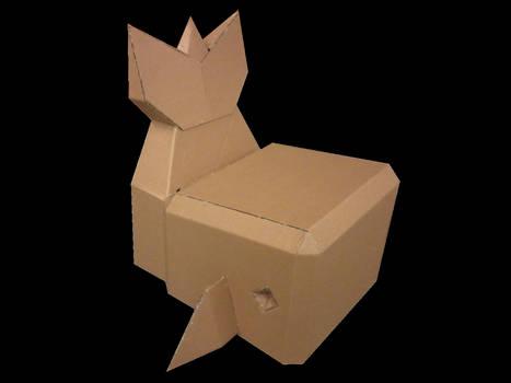 Cardboard Whale Chair