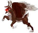 Ally the Red-Nosed Reindeer ~ {Giftie}