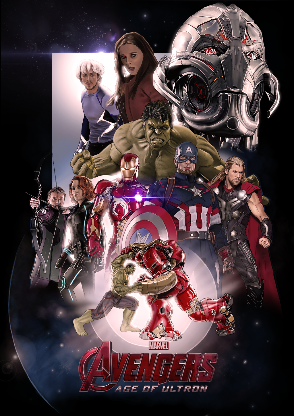 Avengers Age Of Ultron By Iloegbunam On Deviantart: Avengers: Age Of Ultron By ChristopherOwenArt On DeviantArt
