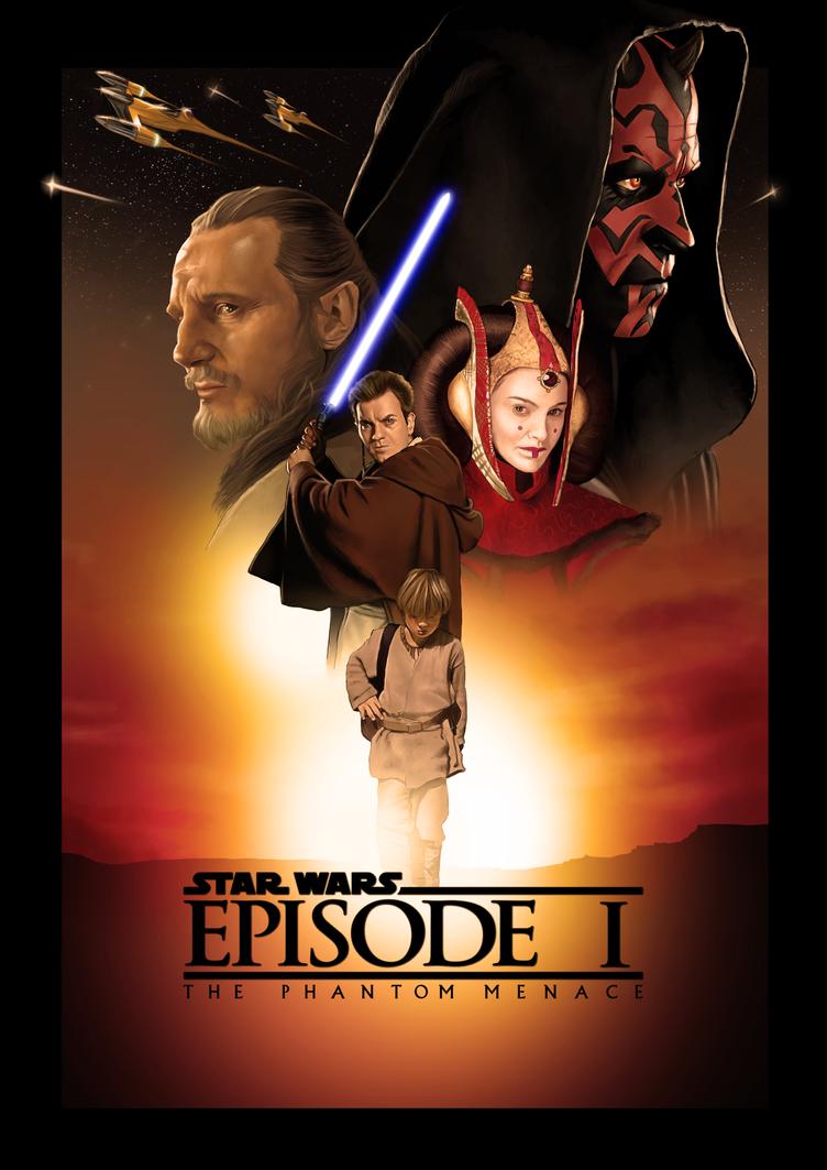 Star Wars The Phantom Menace Poster