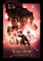 Star Wars: The Force Awakens by ChristopherOwenArt