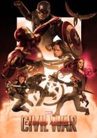 Captain America: Civil War by ChristopherOwenArt