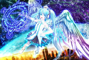 Ginjishi Hatune miku King's magic_ver1.00 by whitesilverlion