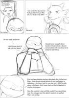 Flirt pg 3 by evilsherbear