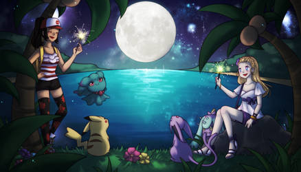 Alolan Adventures [Art Trade] by Chance-To-Draw
