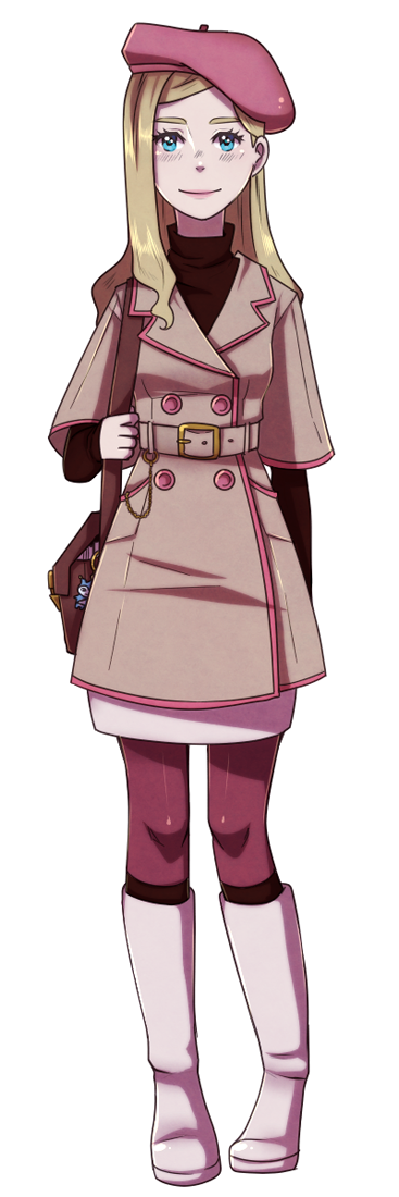 Ace Attorney Character Design By Chance To Draw On Deviantart