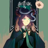 [PR] Harry Potter AU Bust by suikakyuri