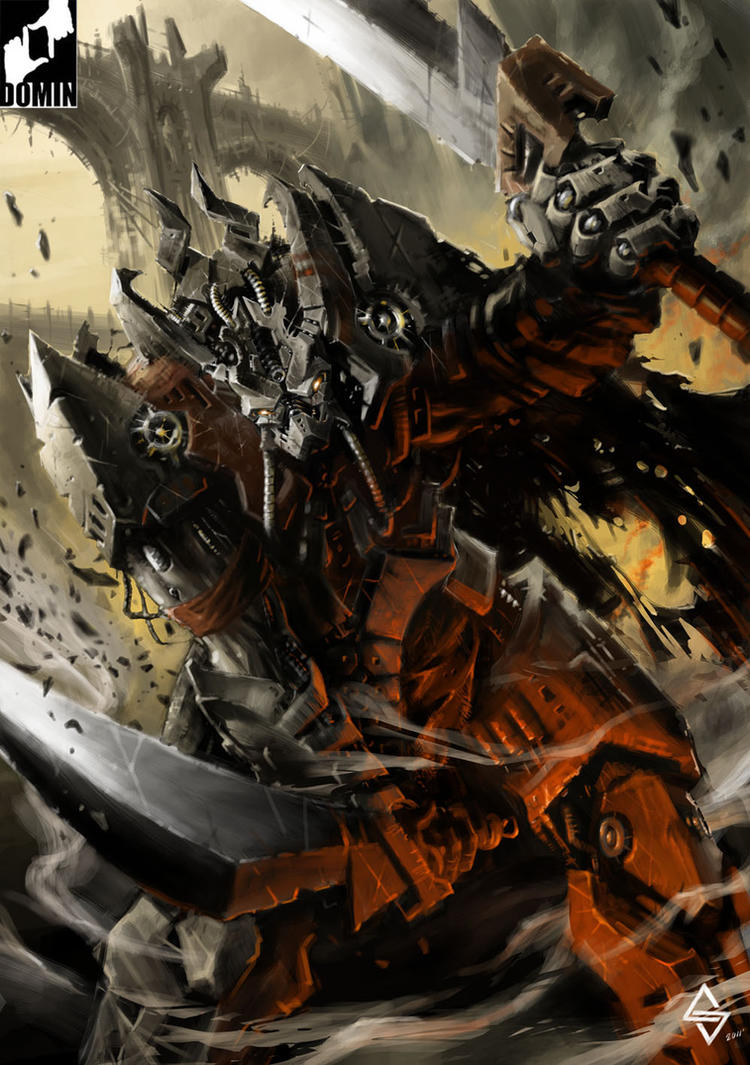 Chaos Terminator by pusiaty