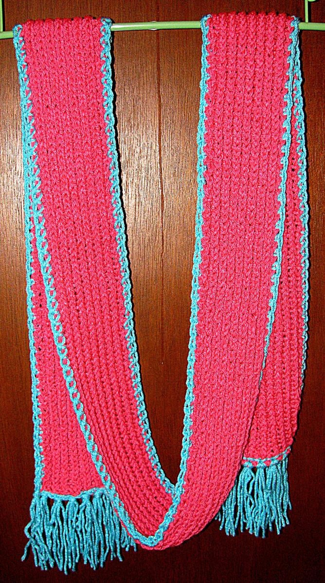Knitting Stitches Ribbing Scarf : Knit Scarf - Rib Stitch by gabiemiller on deviantART