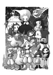 Final Fantasy VII tribute