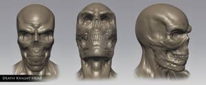 Death Knight Head Sculpt