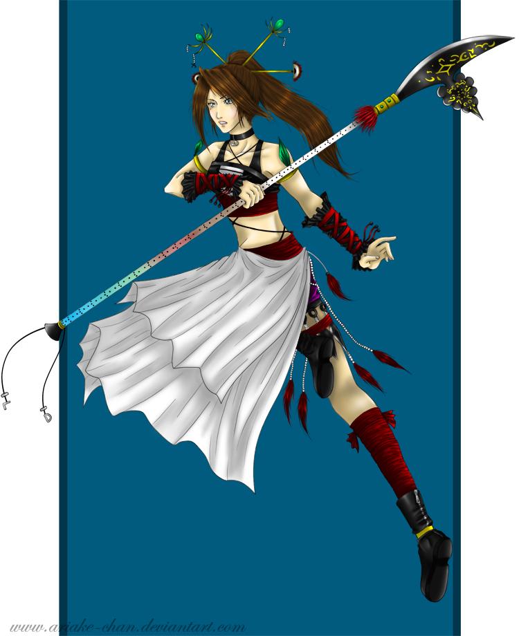 Shurui - Request for saturn137 by Ariake-chan