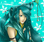 Turquoise Glow by Ariake-chan