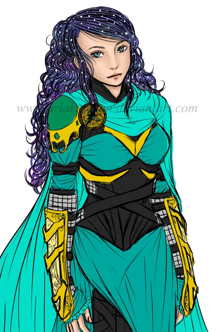 Thor OC: Aria by Ariake-chan