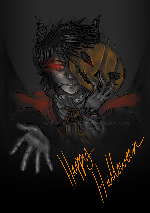 Happy Halloween 2014 by Ariake-chan