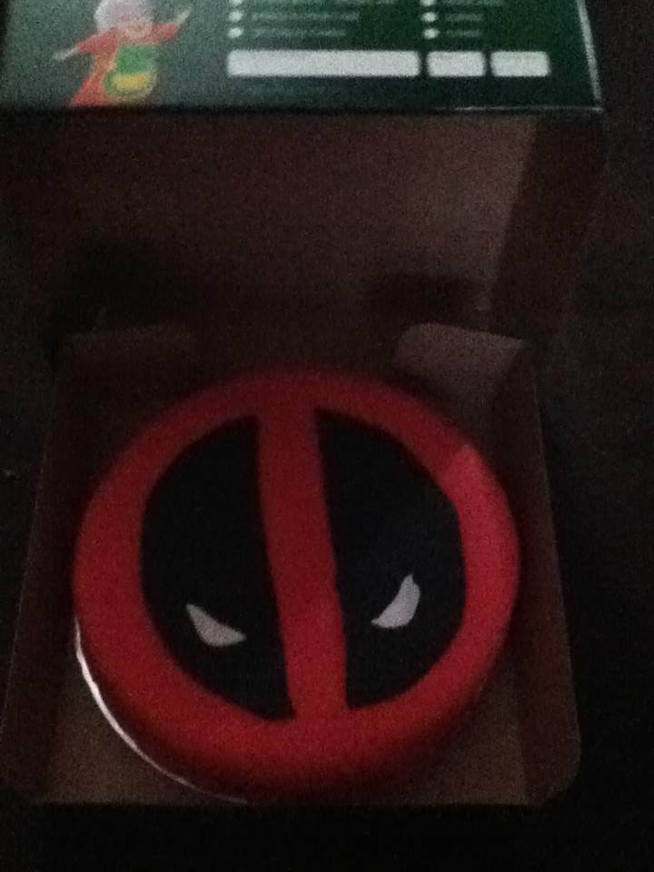 21st deadpool cake unlit by xtreamxboxer