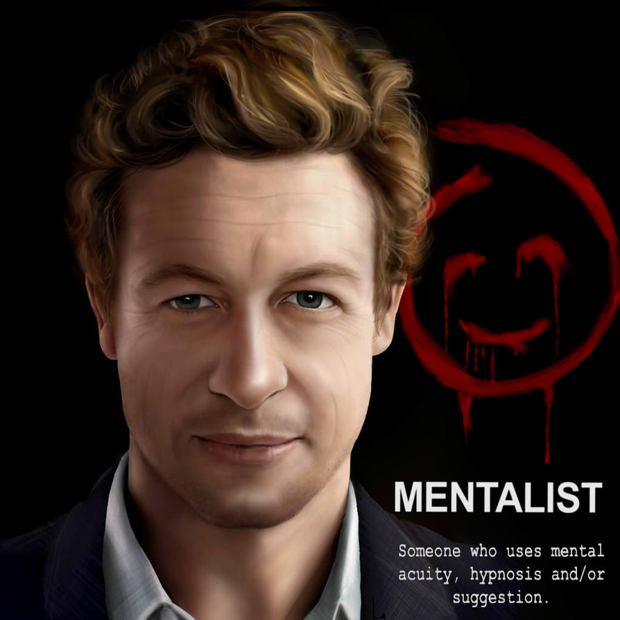 Patrick Jane (Simon Baker) The Mentalist by CaityKitty13