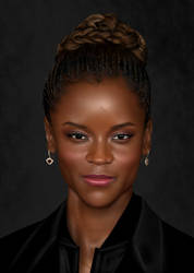 Letitia Wright by CaityKitty13