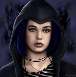 Titans- Rachel Roth (Teagan Croft) by CaityKitty13