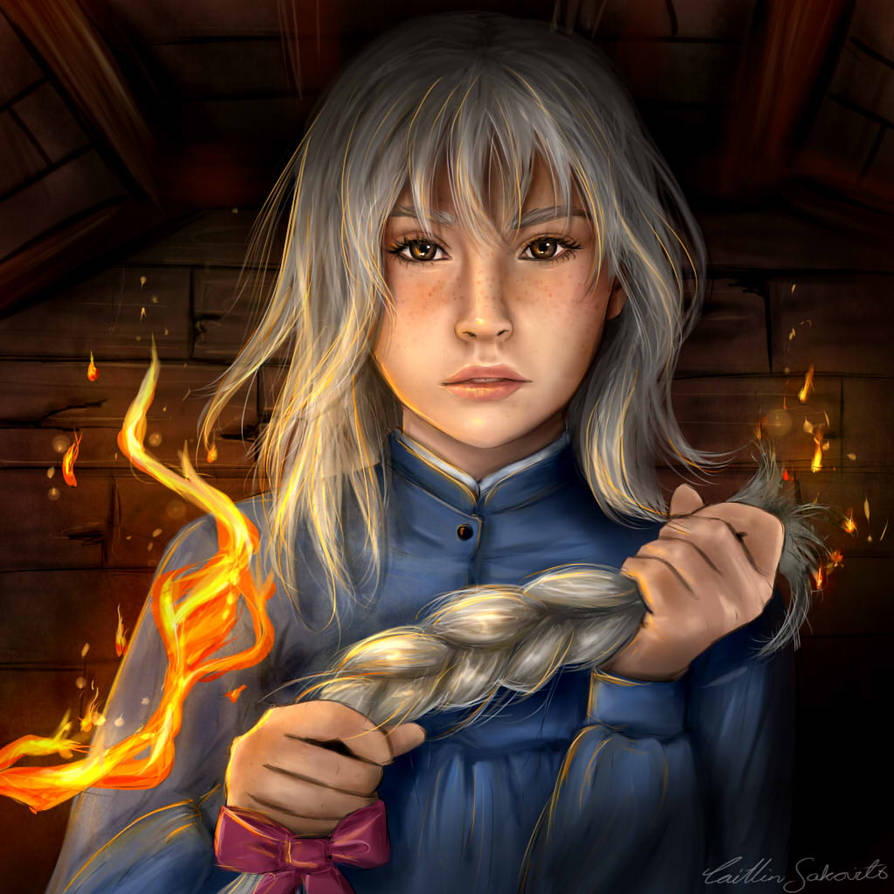 Howl's Moving Castle- Sophie by CaityKitty13