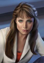 Smallville- Lois Lane (Erica Durance) by CaityKitty13