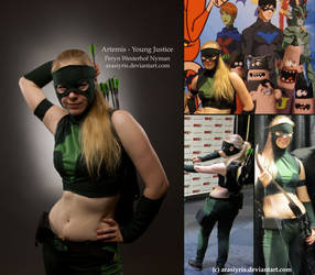Artemis - Young Justice by Arasiyris