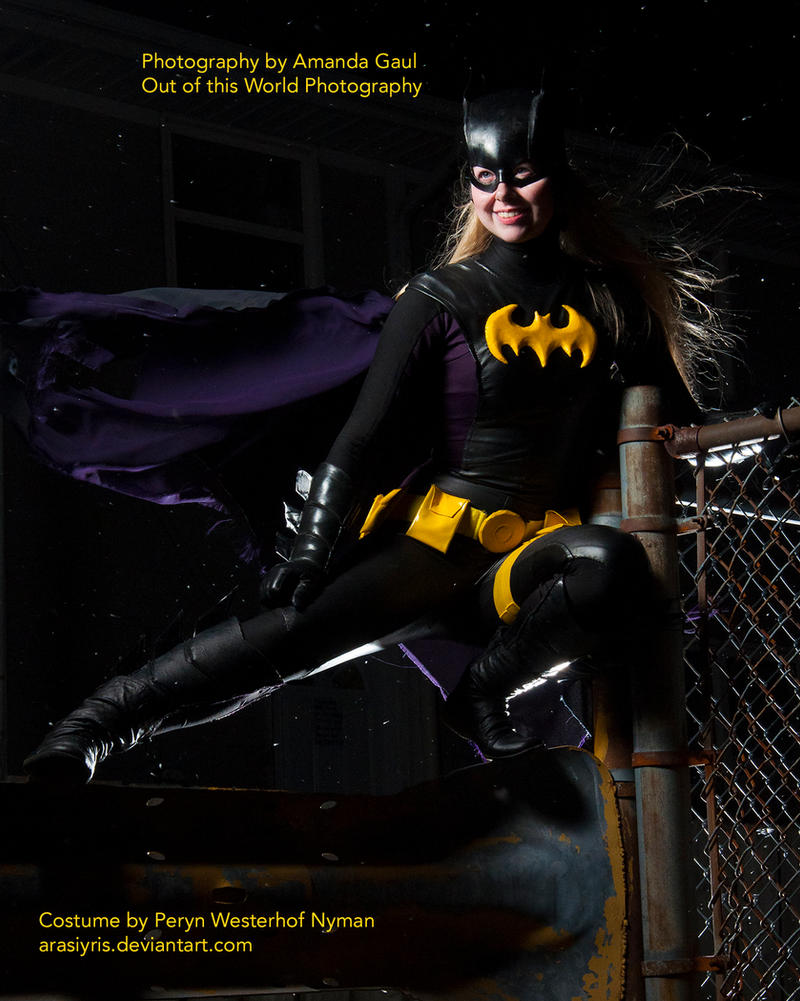 Stephanie Brown - Batgirl - 1 by Arasiyris