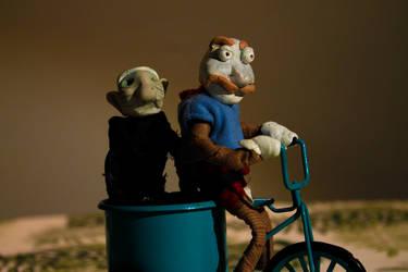 Grandma ride by Mikiel