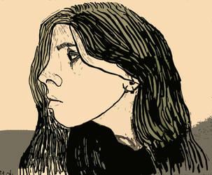 Portrait by Mikiel