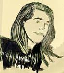 Portrait 5 by Mikiel