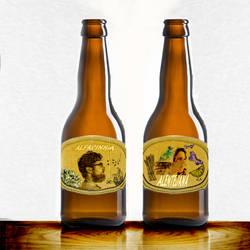 beer labels Rotolos cerveja by Mikiel