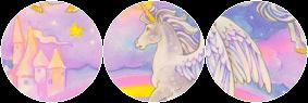 unicorns and rainbowz | F2U by kaito6loves