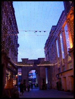 Royal Exchange Square at Xmas